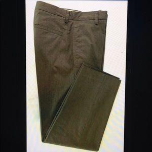Banana Republic Stretch Flat Front Zip Fly Pants